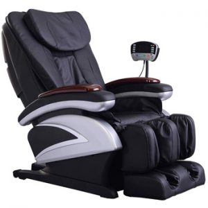 BestMassage EC-06 Electric Full Body Shiatsu Massage Chair Recliner with Heat Stretched Foot Rest
