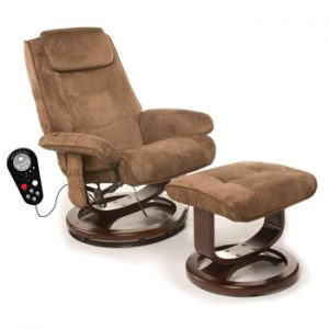 Relaxzen Leisure Recliner Chair with 8-Motor Massage and Heat Massage Chair
