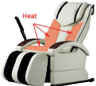 Heated Massage Chairs