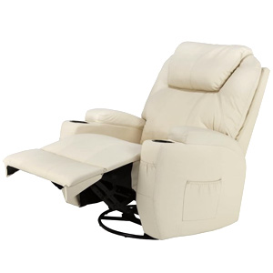 Homegear Recliner Chair with 8 Point Electric Massage and Heat